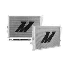 "Mishimoto 17.0"" x 27.4"" Single Pass 2-Row Race Aluminum Radiator"