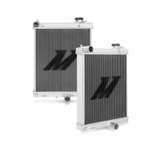 "Mishimoto 19.5"" x 14.0"" Single Pass 2-Row Race Aluminum Radiator"