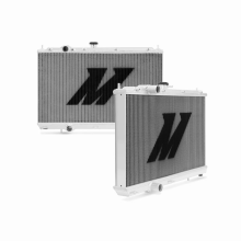 "Mishimoto 19.3"" x 28.1"" Single Pass 2-Row Race Aluminum Radiator"
