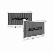 "Mishimoto 16.7"" x 25.6"" Single Pass 1-Row Race Aluminum Radiator"