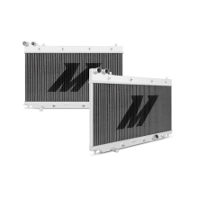 "Mishimoto 17.5"" x 26.5"" Single Pass 2-Row Race Aluminum Radiator"