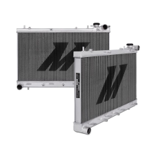 "Mishimoto 17.4"" x 27.7"" Single Pass 2-Row Race Aluminum Radiator"