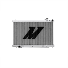 "Mishimoto 21.0"" x 30.0"" Single Pass 2-Row Race Aluminum Radiator"