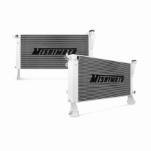 "Mishimoto 17.8"" x 32.48"" Single Pass 2-Row Race Aluminum Radiator"