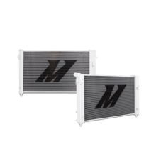 "Mishimoto 18.65"" x 32.60"" Single Pass 2-Row Race Aluminum Radiator"