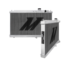 "Mishimoto 18.3"" x 26.5"" Single Pass 2-Row Race Aluminum Radiator"