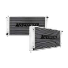 "Mishimoto 19.5"" x 37.6"" Single Pass 2-Row Race Aluminum Radiator"