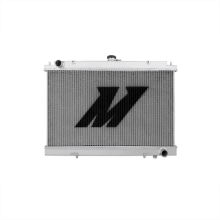 "Mishimoto 21.3"" x 28.2"" Single Pass 2-Row Race Aluminum Radiator"