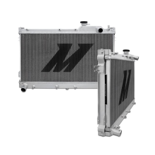 "Mishimoto 18.0"" x 27.8"" Single Pass 3-Row Race Aluminum Radiator"