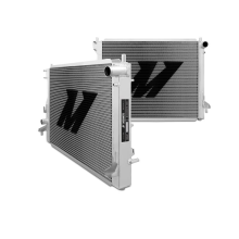 "Mishimoto 21.5"" x 29.3"" Single Pass 2-Row Race Aluminum Radiator"
