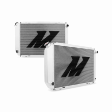"Mishimoto 19.2"" x 29.25"" Single Pass 2-Row Race Aluminum Radiator"