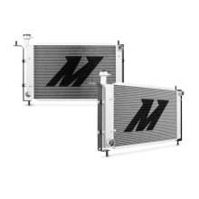 "Mishimoto 20.5"" x 34.8"" Single Pass 2-Row Race Aluminum Radiator"