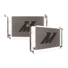 "Mishimoto 19.2"" x 34.8"" Single Pass 2-Row Race Aluminum Radiator"
