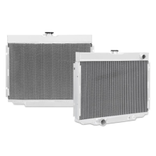 Ford Mustang Big Block 3-Row Performance Aluminum Radiator, 1968–1970