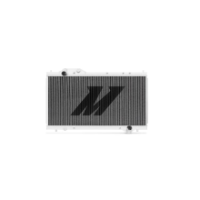 "Mishimoto 17.5"" x 28.0"" Single Pass 2-Row Race Aluminum Radiator"