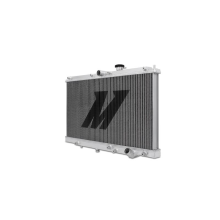 "Mishimoto 17.8"" x 27.4"" Single Pass 2-Row Race Aluminum Radiator"