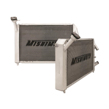 "Mishimoto 19.5"" x 27.34"" Single Pass 2-Row Race Aluminum Radiator"