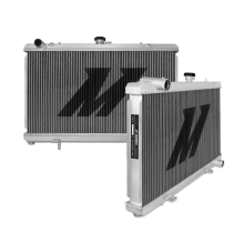 "Mishimoto 26.4"" x 19.5"" Single Pass 2-Row Race Aluminum Radiator"