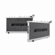 "Mishimoto 17.2"" x 26.4"" Single Pass 2-Row Race Aluminum Radiator"