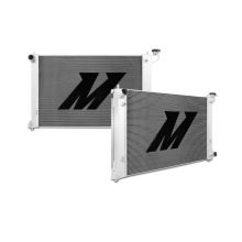 "Mishimoto 18.2"" x 30.5"" Single Pass 2-Row Race Aluminum Radiator"