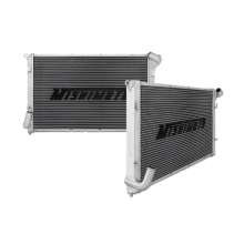 "Mishimoto 17.2"" x 28.2"" Single Pass 2-Row Race Aluminum Radiator"
