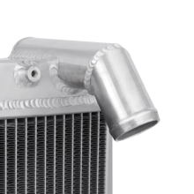 "Mishimoto 16.3"" x 25.51"" Single Pass 2-Row Race Aluminum Radiator"