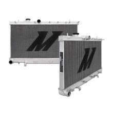 "Mishimoto 17.2"" x 28.4"" Single Pass 2-Row Race Aluminum Radiator"