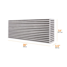 "Universal Air-to-Air Race Intercooler Core 20"" x 7.8"" x 3.5"""