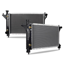 Ford Mustang Replacement Radiator, 1994-1996