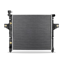 Replacement Radiator, fits Jeep Grand Cherokee 4.0L 1999-2004