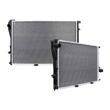 BMW 530i 3.0L Replacement Radiator, 2001-2003