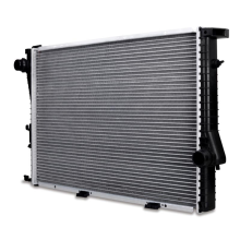 BMW 540i 4.4L Replacement Radiator, 1999-2003