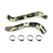 Silicone Camo Hose Kit, fits Jeep Wrangler 6 Cyl 2007-2011