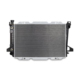 Replacement Radiator, fits Ford Bronco w/ AC 1985-1996
