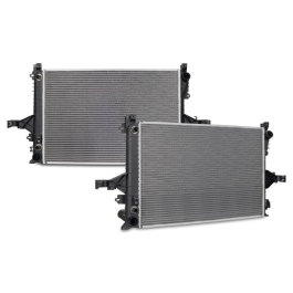 Volvo S60 Replacement Radiator Automatic Transmission