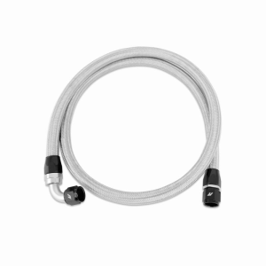 5ft Stainless Steel Braided Hose w/ -10AN Fittings