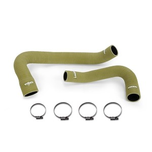 Silicone Olive Drab Hose Kit, fits Jeep Wrangler 6 Cyl 2007-2011