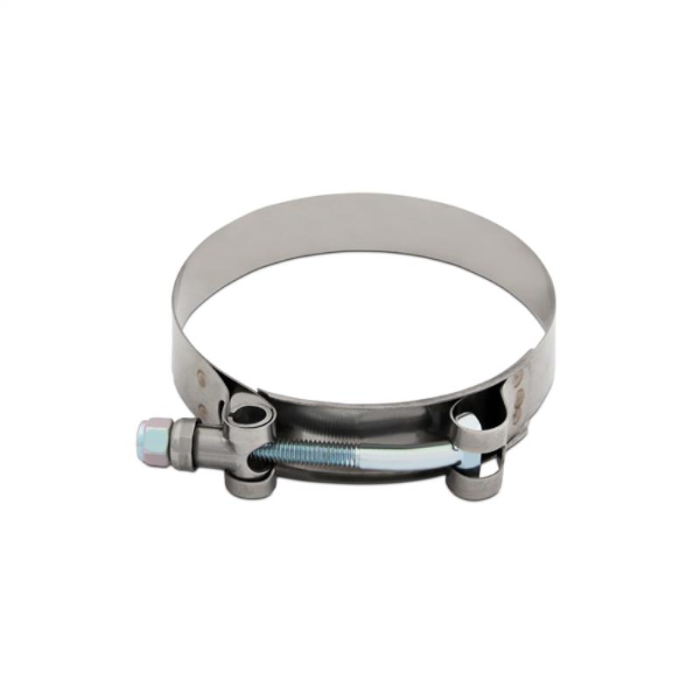 """Mishimoto Stainless Steel T-Bolt Clamp, 3.38""""–3.70"""" (86MM–94MM)"""