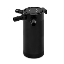 Mishimoto XL Compact Baffled Oil Catch Can, 3-Port