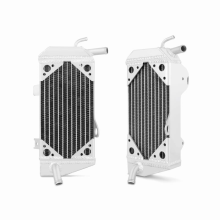 Honda CRF450R Left Braced Aluminum Dirt Bike Radiator, 2009-2012