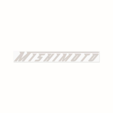 M | Mishimoto Decal, Large