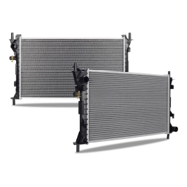 Replacement Radiator, fits Ford Focus 2000-2004