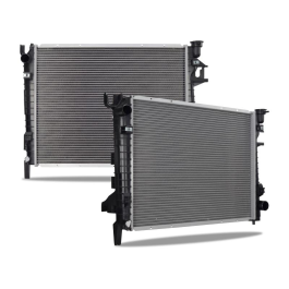 Replacement Radiator, fits Dodge Ram 1500 2002–2008