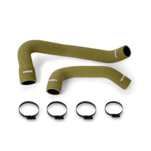 Silicone Olive Drab Hose Kit, fits Jeep Wrangler 6 Cyl 1997-2006