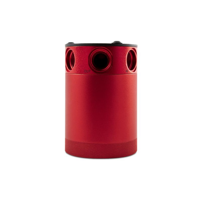 Mishimoto Compact Baffled Oil Catch Can, 3-Port