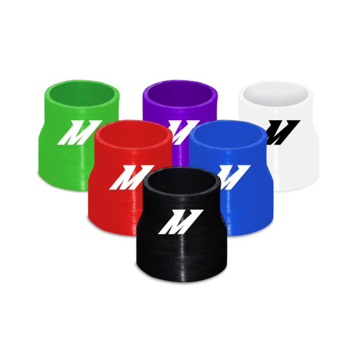 "Mishimoto 2.25"" to 2.5"" Silicone Transition Coupler, Various Colours"