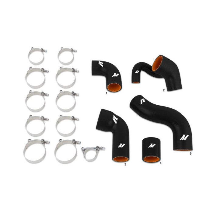 Volvo 850 / S70 / V70 Silicone Turbo Hose Kit, 1997-2004