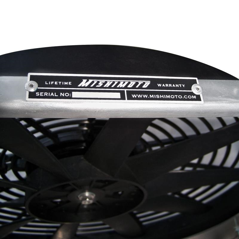 Mitsubishi Lancer Evolution Evo 7 8 9 Performance Aluminum Fan Shroud Kit 2001-2007 Mishimoto MMFS-EVO-01