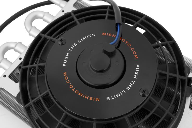 Mishimoto Heavy Duty Transmission Cooler With Electric Fan