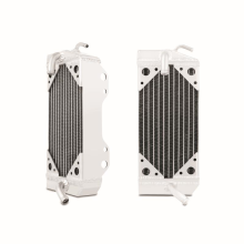 Honda CRF450R Braced Aluminium Dirt Bike Radiator, 2002-2004
